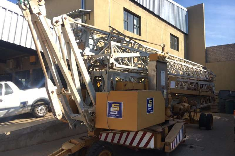 Other COMEDIL CBR36H SELF ERECTOR TOWER CRANE Cranes