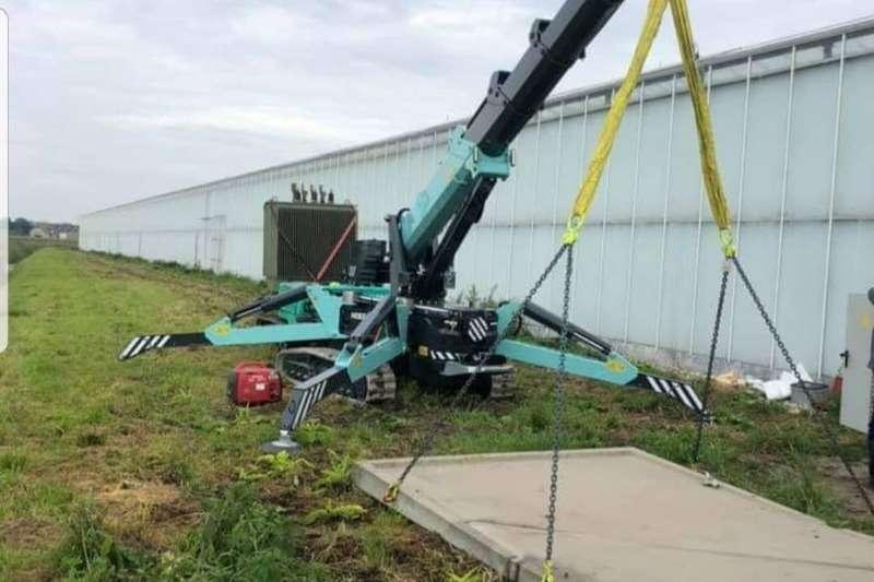 Other Crawler HOEFLON MINI CRANE   MODEL C30e Cranes