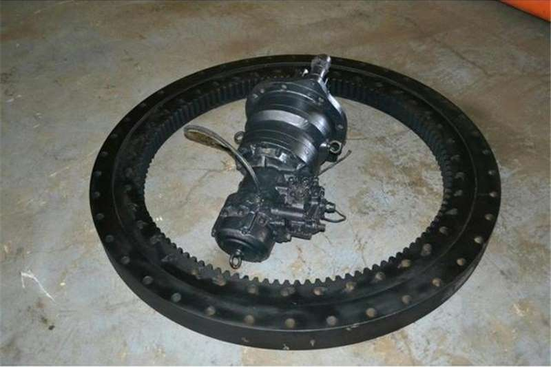 Other Cranes Hydrostatic Slew Drive Bearing with Motor