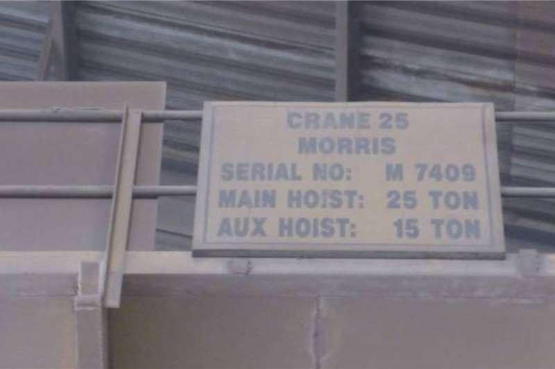 Other Morris 25 Ton Overhead Crane Cranes