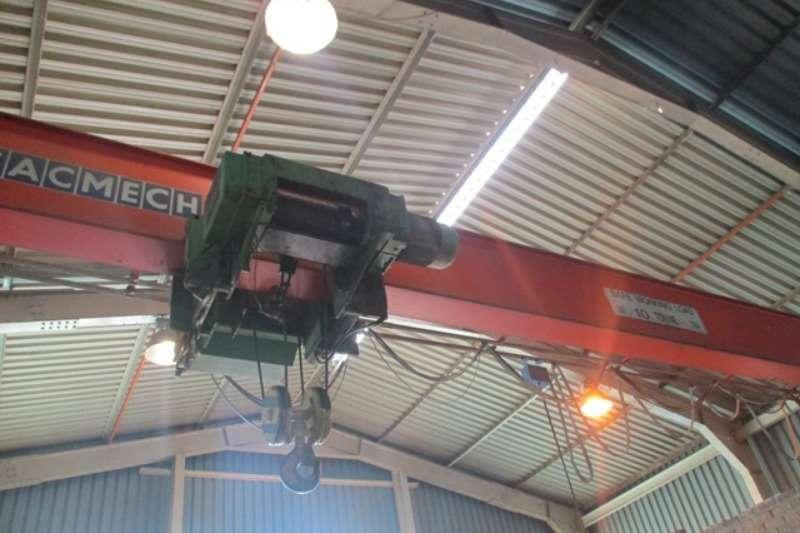 Other Cranes Overhead Sacmech 10 Ton, 13 Meter Span Gantry Crane 1988