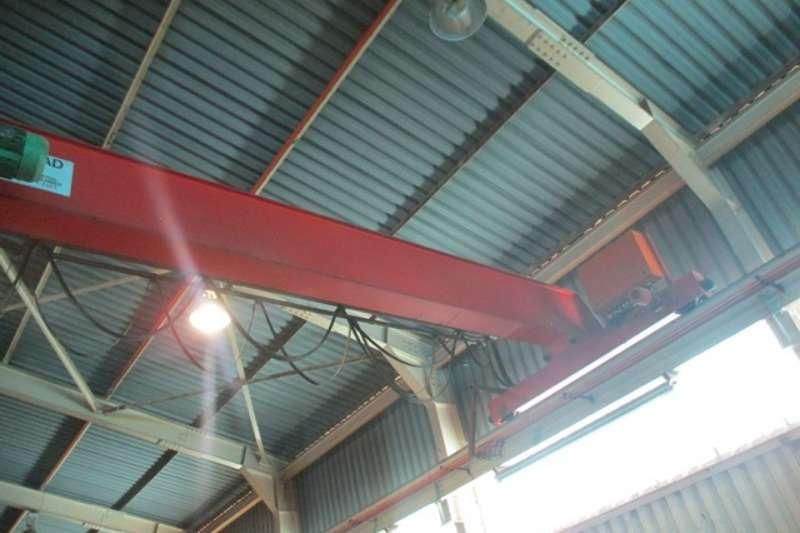 Other Cranes Overhead Sacmech 5 Ton, 13 Meter Span Gantry Crane