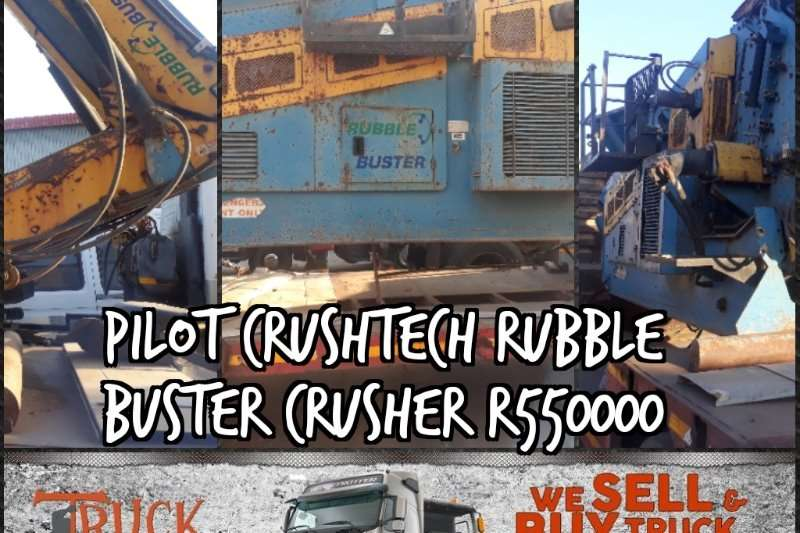 Other Crushers Crushtech Rubble buster