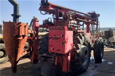 Other Tractor 4x4 Massey Ferguson 399 with Drill Rig Drill Rigs