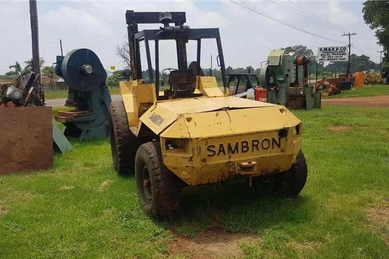 Other Forklifts Diesel forklift Sambron All Terrain Big Wheel Diesel Forklift