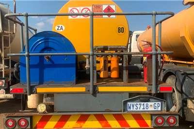 Other 2008 ISUZU 800 7500L Fuel tankers