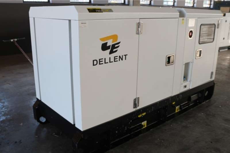 Other Generator Dellent 50kVA Silent Diesel Generator 2019