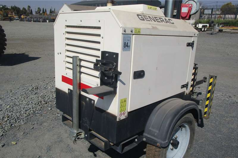 Other Generac light Plant Generator