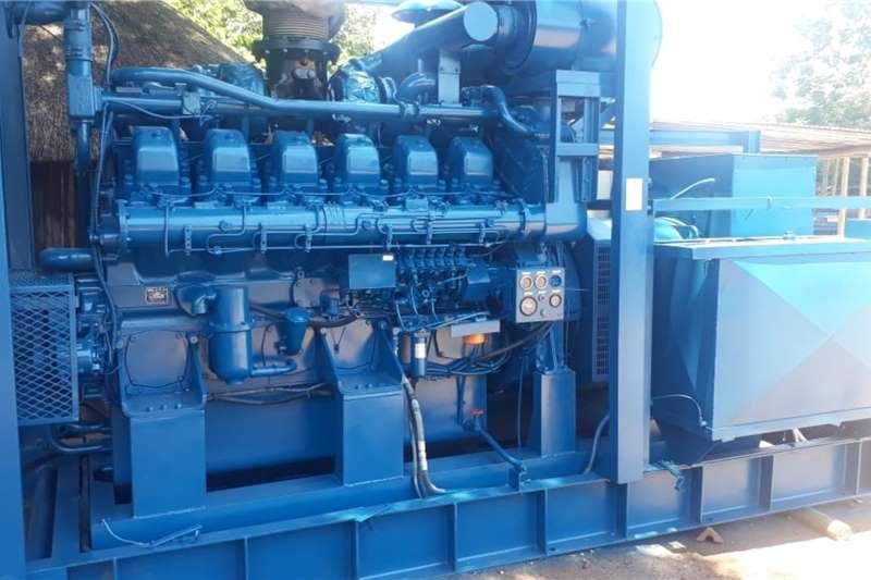Other Generator MITSUBISHI S12N 12 CYL 1320HP 15000RPM