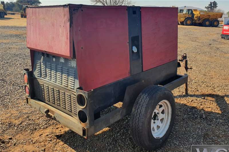 Other MOSA 20KVA GENERATOR MOUNTED ON TRAILER NO PAPERS Generator