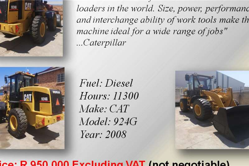 Other Refurbished CAT and Buffel Front End Loaders Loaders