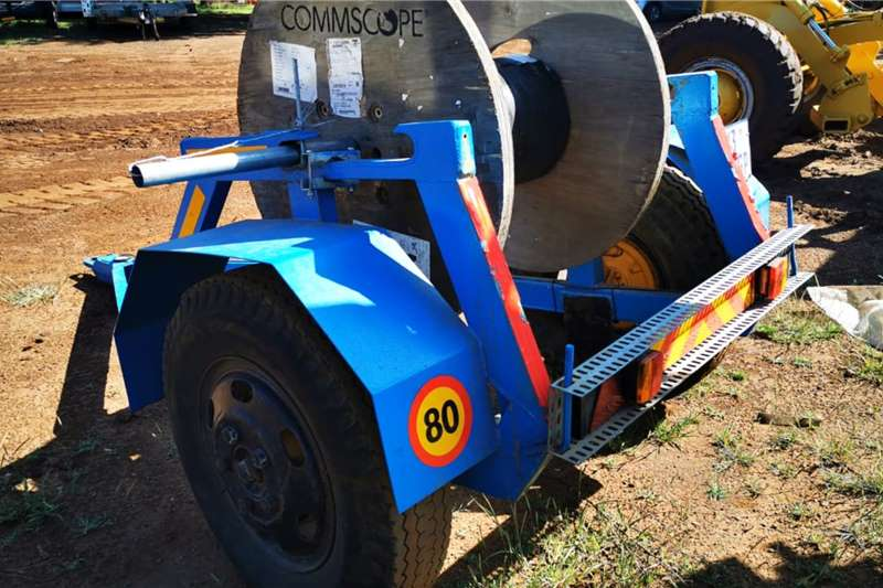 Other Others Heavy duty fiber/electric cable trailer 2018