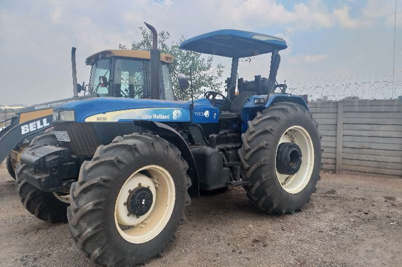Other Others New Holland 8030 Tractor 2012