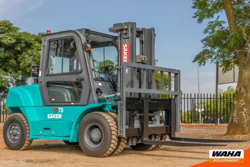 SAKER Forklifts 7 Ton Closed Cab 2019
