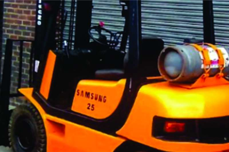 Samsung Forklifts Reconditioned 2.5ton Samsung lpgas forklift