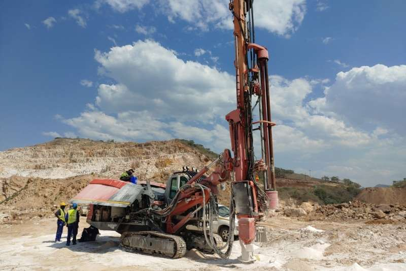 Sandvik Drill rigs DP1550 Drill Rigs 2012