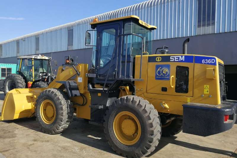 SEM SEM 636 D Wheel loader