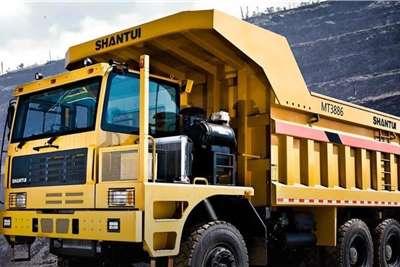 Shantui MT3886 Wide Body Mining Dump Truck Dumpers