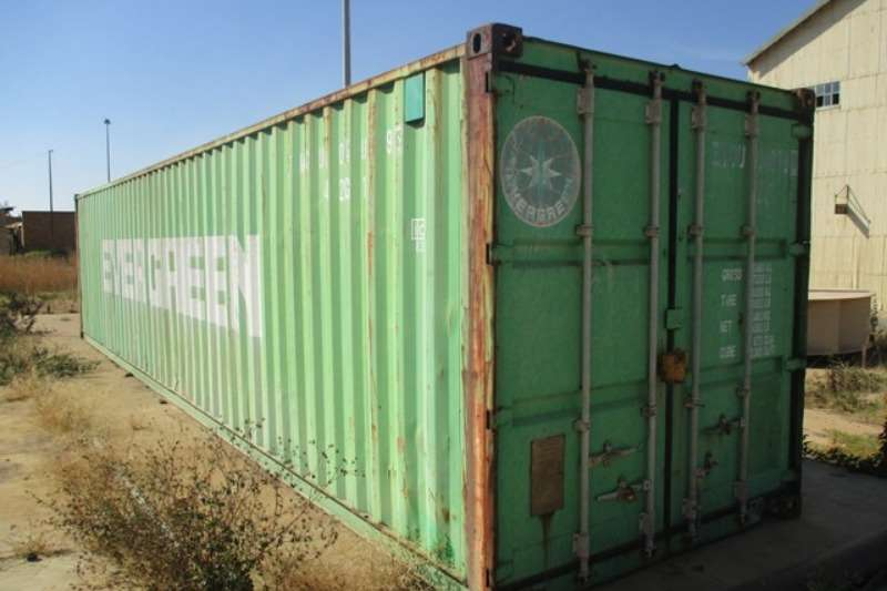 Shipping Container Containers Evergreen 12 Meter Shipping Container