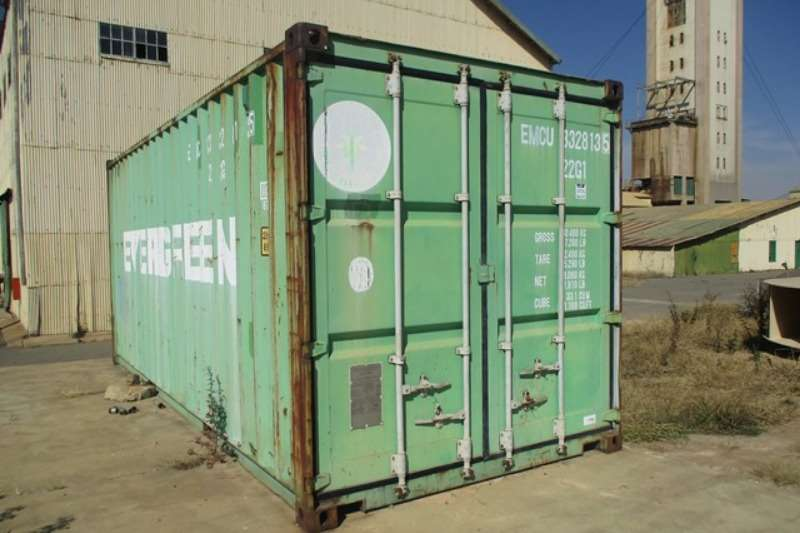 Shipping Container Containers Evergreen 6 Meter Shipping Container