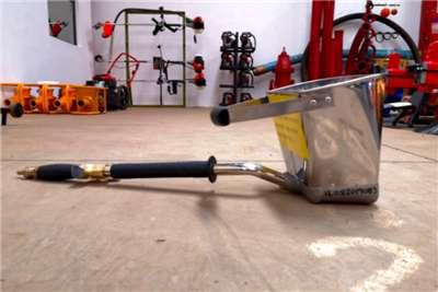Sino Plant Plaster & Gunite Sprayer Pneumatic Concrete pumps