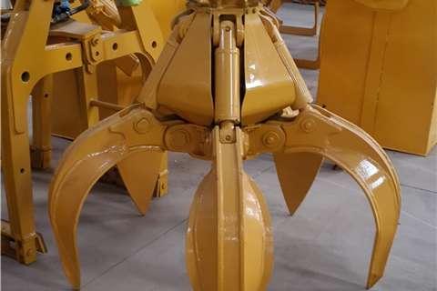Sino Plant Cranes Attachment Metal Grab (6 10 Ton) 2020