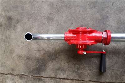 Sino Plant New   Manual Rotary Drum Pump Fuel pumps