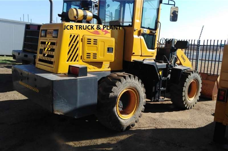 Sino Plant Loaders SINO FRONT END LOADER