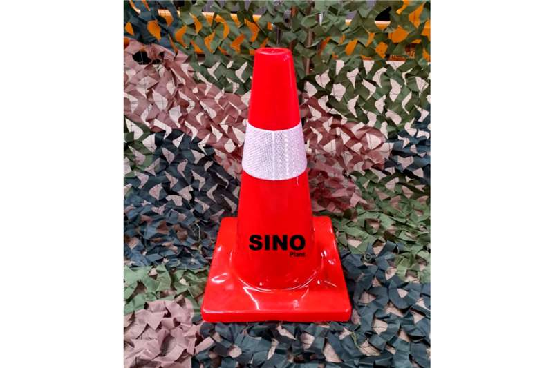 Sino Plant Traffic Cone Pvc 450mm Red Base Others
