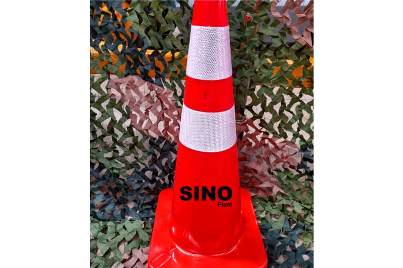 Sino Plant Traffic Cone Pvc 700mm Red Base Others