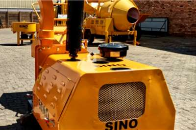 Sino Plant Wood Chipper 200mm Diesel Skid Mount Others