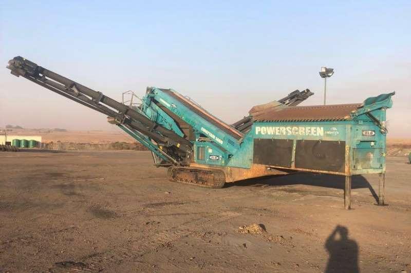 Sino Plant Power screed Chieftan 1400 2015