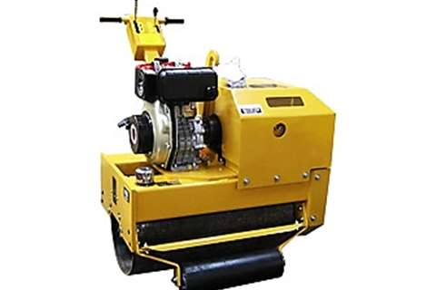 Sino Plant Rollers Vibratory roller Single Drum Roller 400 Kg 2018