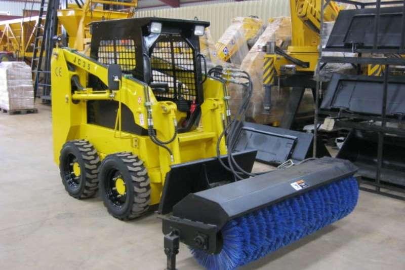 Sino Plant Skid Steer Road Sweeper for JC35/45 Skidsteers
