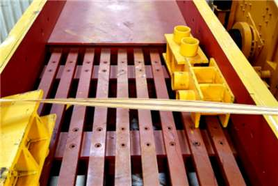 Sino Plant Grizzly Bar 4900 x 1100 Vibrating screens