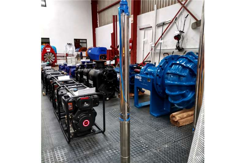 Sino Plant Borehole Pump 220v 100mm/128m Water pumps