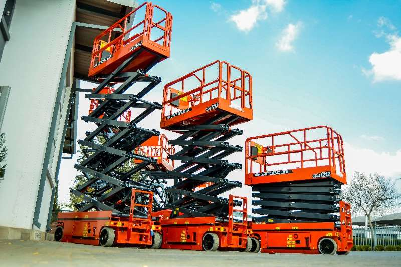 Sinoboom Scissor lifts Platform height 10m, max working height 12m 2019