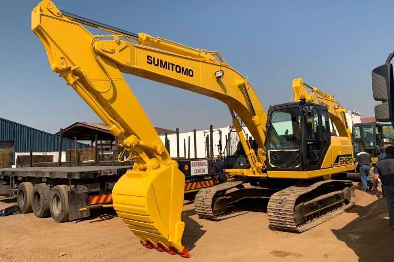 Sumitomo Excavators SH210 5 2016