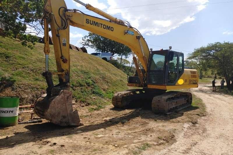 Sumitomo Excavators SH210 5 Excavator 2008