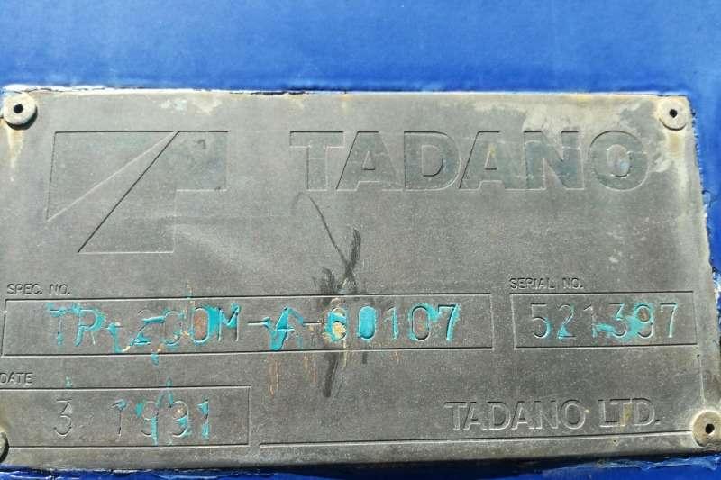 Tadano Mobile Tadano TR200 M 4 20 ton crane Cranes