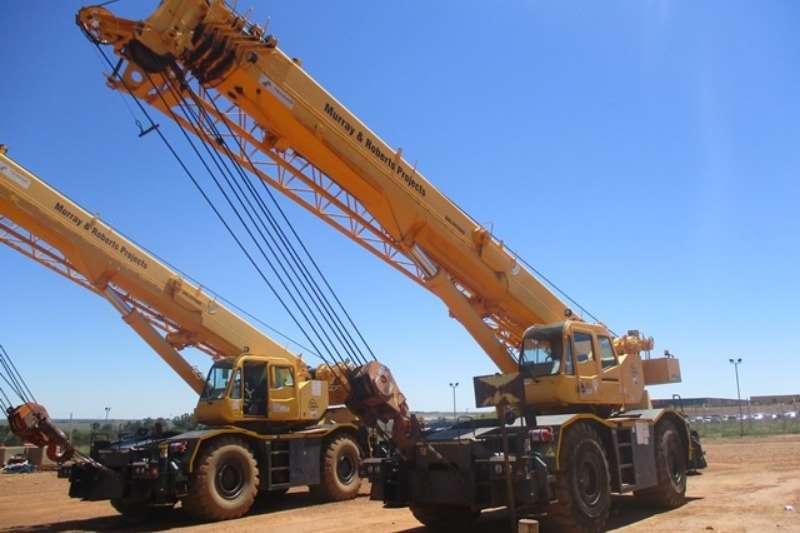Tadano Cranes Tadano GR550, 55 Ton Mobile Crane