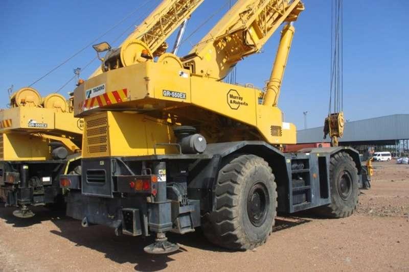 Tadano Cranes Tadano GR550EX, 55 Ton Mobile Crane