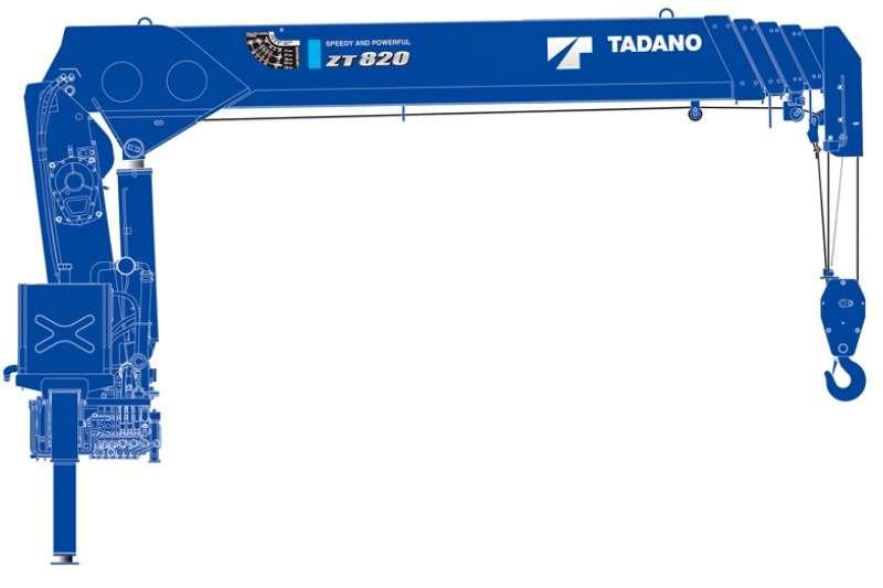 Tadano Cranes Truck mounted ZT 820 2019
