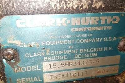 Clark 15,5 HR Transmission Telescopic loaders