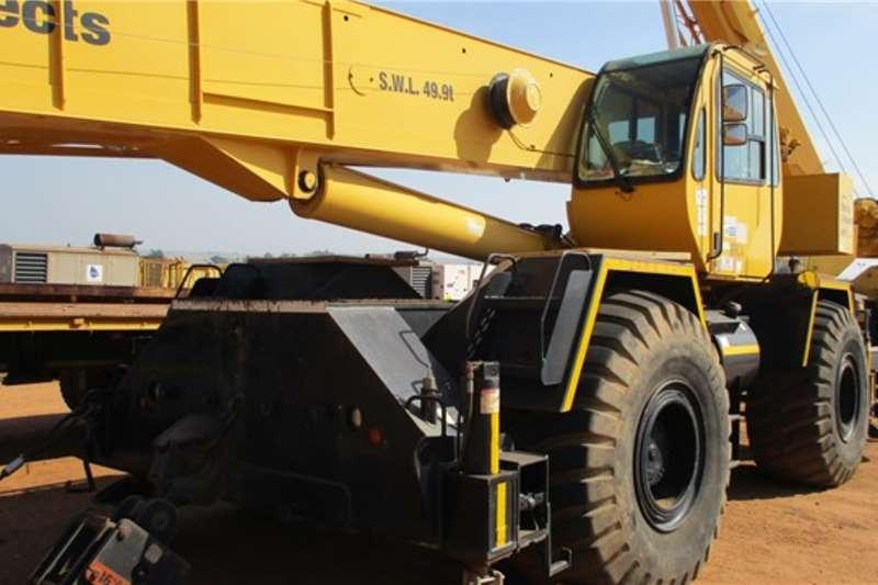 Terex Cranes Terex RT555   149 Ton S.W.L Mobile Crane 2010