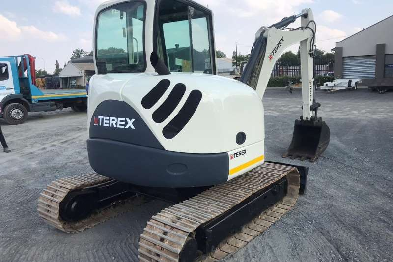Terex Excavators TC 50 PIPED FOR HAMMER 2008
