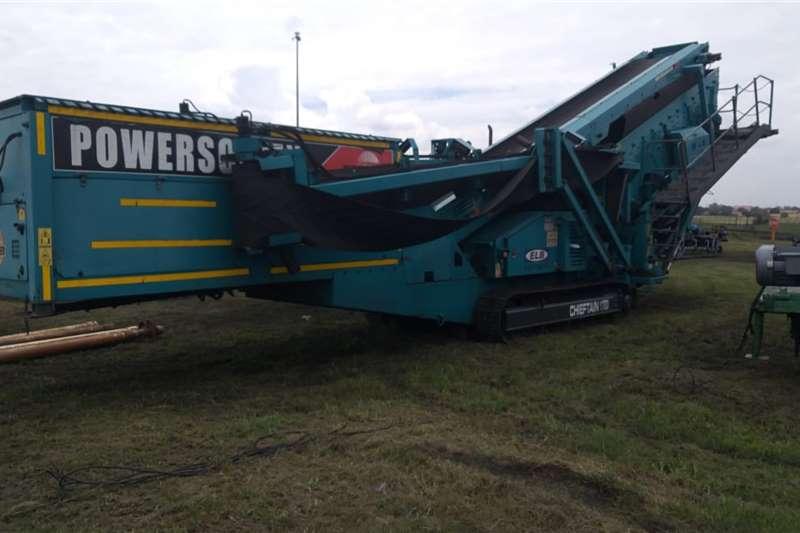 Terex Screeners Powerscreen Chieftain 1700 2011