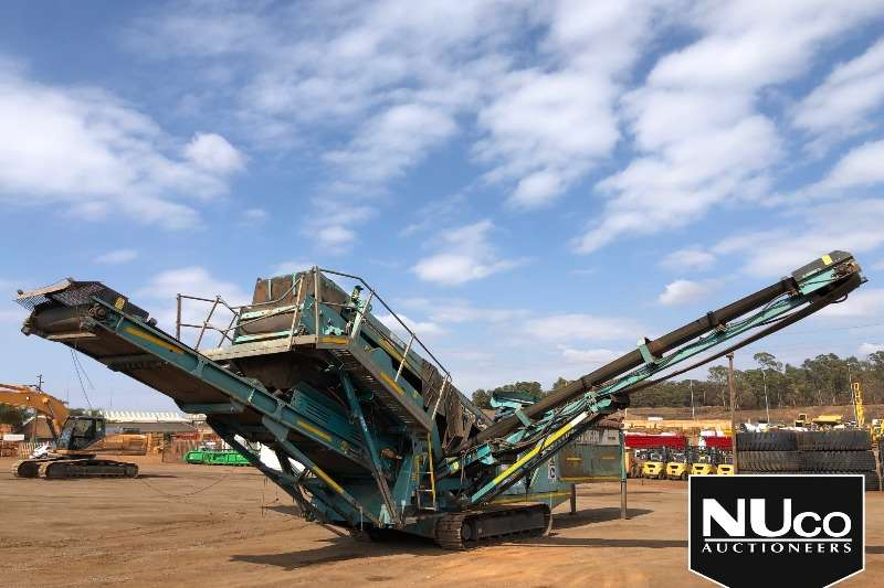 特雷克斯安检员TEREX CHIEFTAIN 1400 MOBILE POWERSCREEN 2010