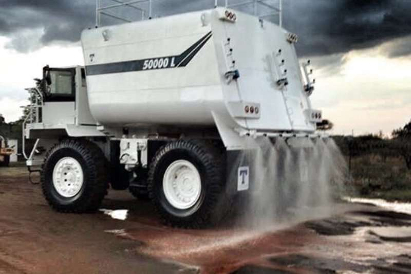 Terex Water tankers 50000 to 120000L Water bowsers 2020