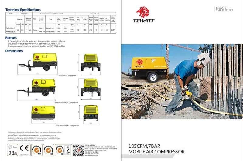 TEWATT Compressors TWT185D7T COMPRESSOR 2020